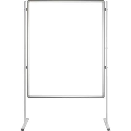 FRANKEN Kombitafel PRO, (B)900 x (H)1.200 mm, weiß/grau