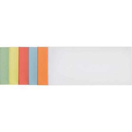 FRANKEN Moderationskarte, Rechteck, 205 x 95 mm, sortiert