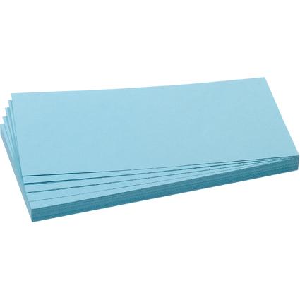FRANKEN Moderationskarte, Rechteck, 205 x 95 mm, hellblau