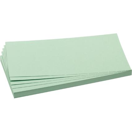 FRANKEN Moderationskarte, Rechteck, 205 x 95 mm, hellgrün