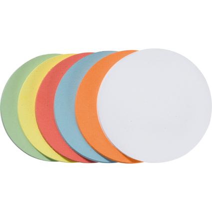 FRANKEN Moderationskarte, Kreis, Durchm.: 195 mm, sortiert
