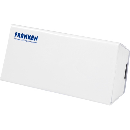 FRANKEN Tafelwischer, magnetisch, 160 x 75 x 45 mm, weiß