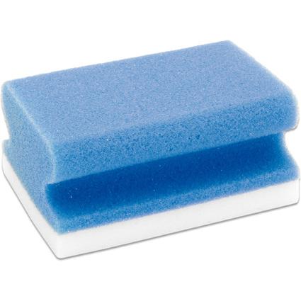 FRANKEN Universal-Reinigungsschwamm X-Wipe!, blau/weiß