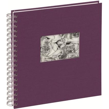 """PAGNA Foto-Spiralalbum """"Passepartout"""", violett"""