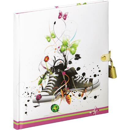 "PAGNA Tagebuch ""Chucks"", 80 g/qm, 64 Blatt"