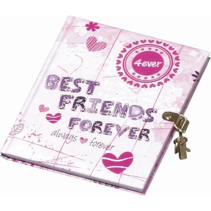 "PAGNA Tagebuch ""Best friends forever"", 80 g/qm, 64 Blatt"