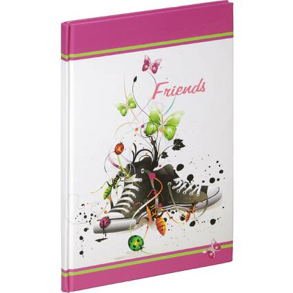 "PAGNA Freundebuch ""Chucks"", 120 g/qm, 60 Blatt"