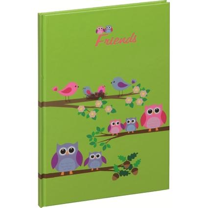 """PAGNA Freundebuch """"Sweet Owls"""", 120 g/qm, 30 Blatt"""