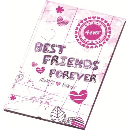 """PAGNA Freundebuch """"Best friends forever"""", 120 g/qm, 30 Blatt"""
