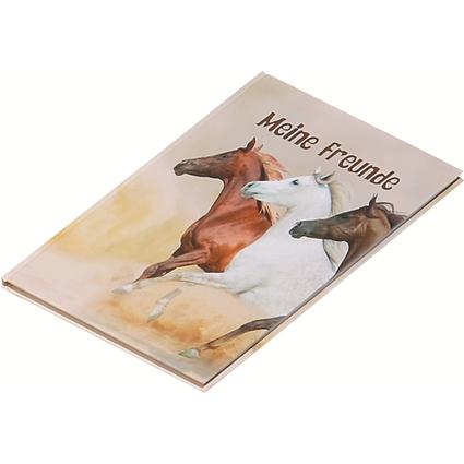 """PAGNA Freundebuch """"Wildpferde"""", 120 g/qm, 60 Blatt"""