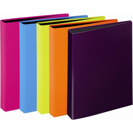 "PAGNA Ringbuch ""Trend Colours"", 2-Bügel-Mechanik, sortiert"