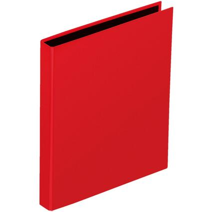 "PAGNA Ringbuch ""Basic Colours"", 2 Bügel-Mechanik, rot"