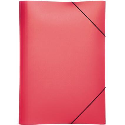 """PAGNA Eckspannermappe """"Trend Colours"""", DIN A4, rot"""