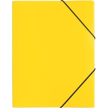 """PAGNA Eckspannermappe """"Trend Colours"""", DIN A4, gelb"""