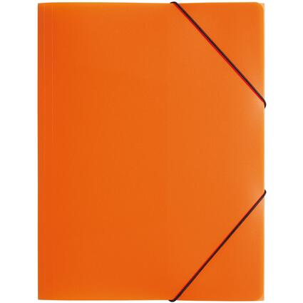 "PAGNA Eckspannermappe ""Trend Colours"", DIN A4, orange"