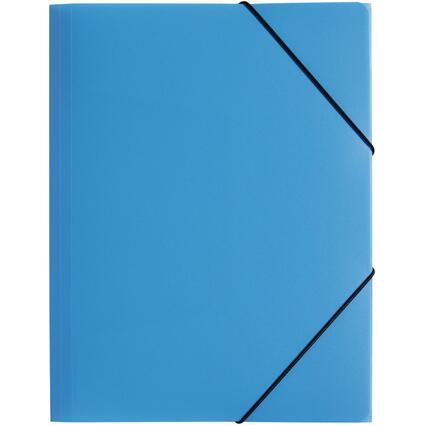 """PAGNA Eckspannermappe """"Trend Colours"""", DIN A4, hellblau"""