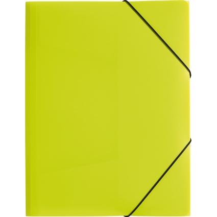 """PAGNA Eckspannermappe """"Trend Colours"""", DIN A4, lindgrün"""