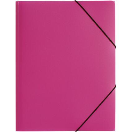 """PAGNA Eckspannermappe """"Trend Colours"""", DIN A4, dunkelrosa"""