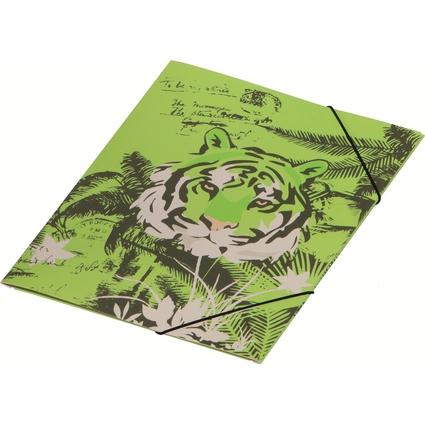 "PAGNA Eckspannermappe ""Jungle Life"", Karton, DIN A4"