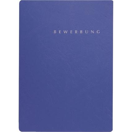 """PAGNA Bewerbungsmappe """"Select"""", DIN A4, aus Karton, blau"""