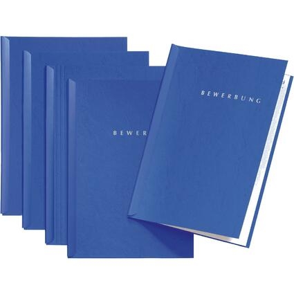 "PAGNA Bewerbungs-Set ""Start"", DIN A4, blau"