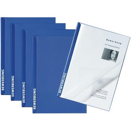 """PAGNA Bewerbungs-Set """"Score"""", DIN A4, blau"""