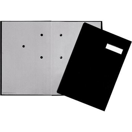 PAGNA Unterschriftenmappe, DIN A4, 20 Fächer, schwarz