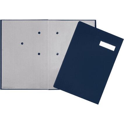 PAGNA Unterschriftenmappe, DIN A4, 20 Fächer, blau