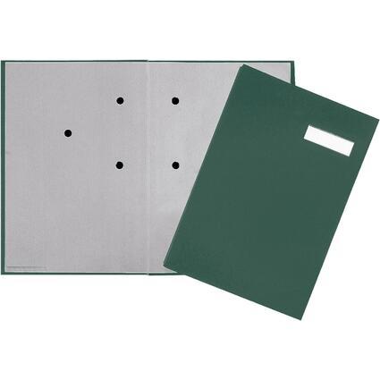 PAGNA Unterschriftenmappe, DIN A4, 20 Fächer, grün