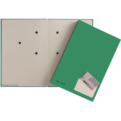 PAGNA Unterschriftenmappe Color, DIN A4, 20 Fächer, grün