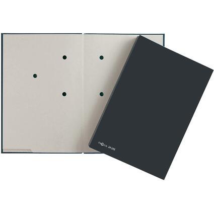 PAGNA Unterschriftenmappe Color, DIN A4, 20 Fächer, schwarz
