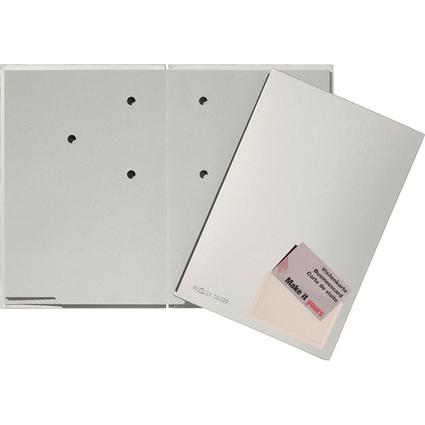PAGNA Unterschriftenmappe Color, DIN A4, 20 Fächer, silber