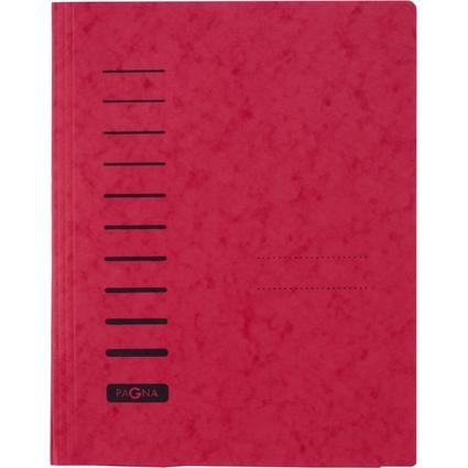 PAGNA Schnellhefter, DIN A4, aus Karton, rot