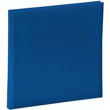 "PAGNA Gästebuch ""Europe"", blau, 180 Seiten"