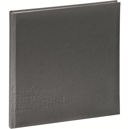 """PAGNA Gästebuch """"Europe"""", grau, 180 Seiten"""