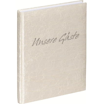 """PAGNA Gästebuch, Motiv: """"Tsarina"""", weiß, 240 Seiten"""