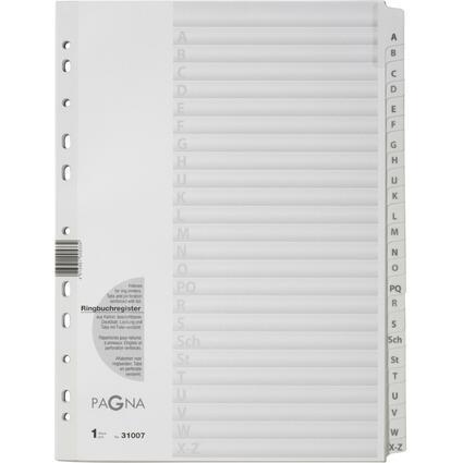 PAGNA Karton-Register, A - Z, DIN A4, 24-teilig