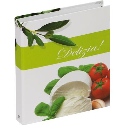 "PAGNA Kochrezepte-Ringbuch, Motiv: ""Olive & Tomate"", DIN A5"