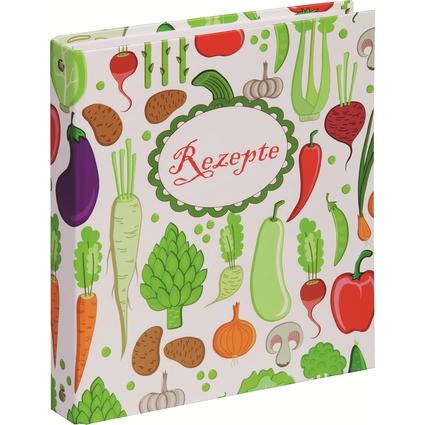 """PAGNA Kochrezepte-Ringbuch, Motiv: """"Junges Gemüse"""", DIN A5"""