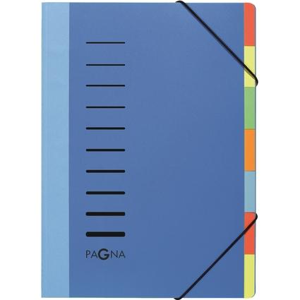 PAGNA Ordnungsmappe DESKORGANIZER Lucy Colors, blau