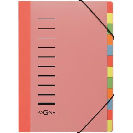 PAGNA Ordnungsmappe DESKORGANIZER Lucy Colors, transparent