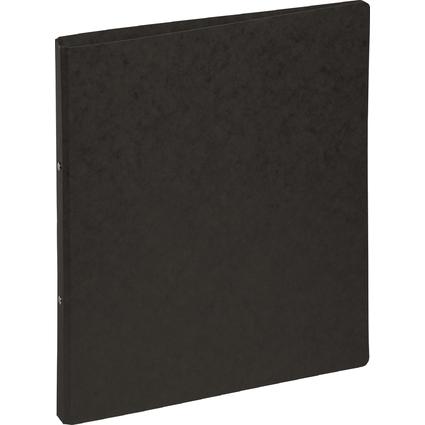 PAGNA Ringbuch, aus Pressspann, 2 Ring-Mechanik, schwarz