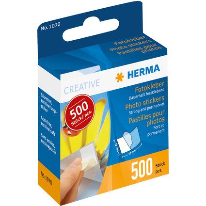 HERMA Foto-Kleber im Kartonspender, Inhalt: 500 Stück