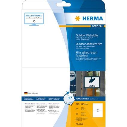HERMA Outdoor Folien-Etiketten SPECIAL, 210 x 148 mm