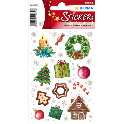 """HERMA Weihnachts-Sticker DECOR """"Weihnachtszeit"""""""