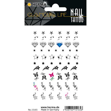 """HERMA CLASSIC Nail Tattoo """"Stars"""""""