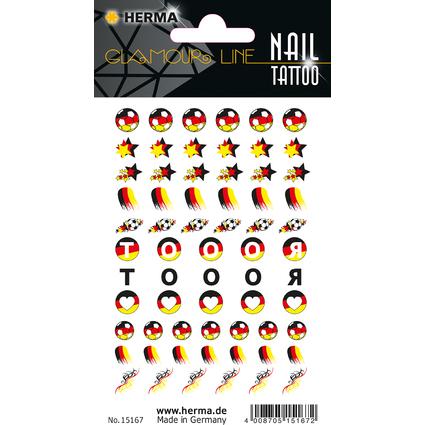 """HERMA CLASSIC Nail Tattoo """"German Star"""""""