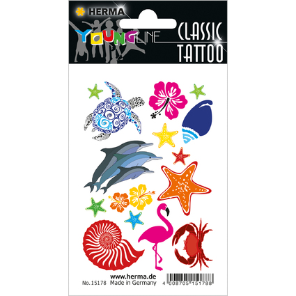 "HERMA CLASSIC Tattoo ""Colour Ocean"""