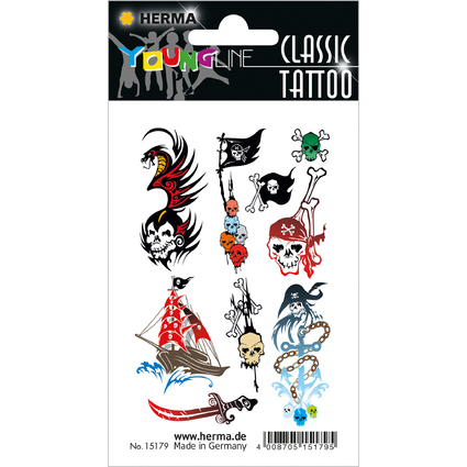"HERMA CLASSIC Tattoo ""Colour Pirats"""