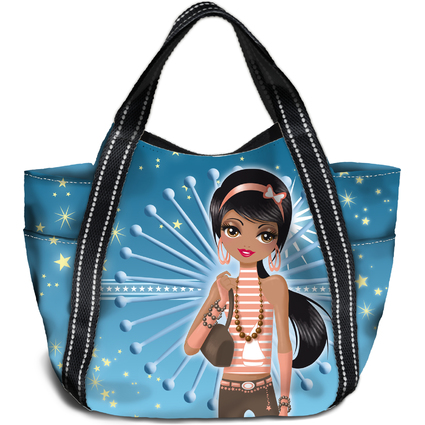 "HERMA Shopping Bag ""Mini Shopper"", Motiv: Top Model"